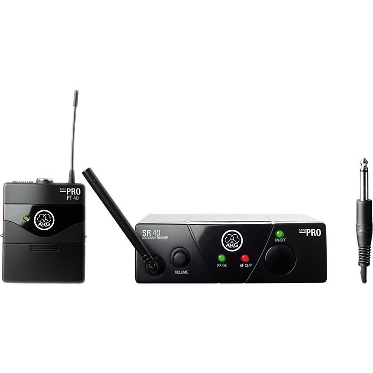 AKGWMS 40 Mini Instrument Wireless SystemBand A (516-558 MHz)