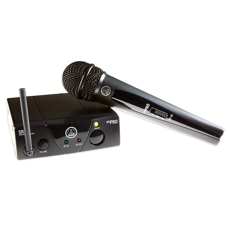 AKG WMS 40 Mini Vocal Wireless System Band A (516–558 MHz)