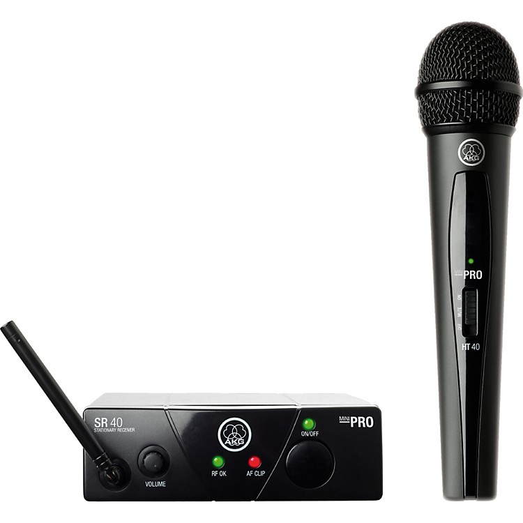 AKG WMS 40 Mini Vocal Wireless System Ch C