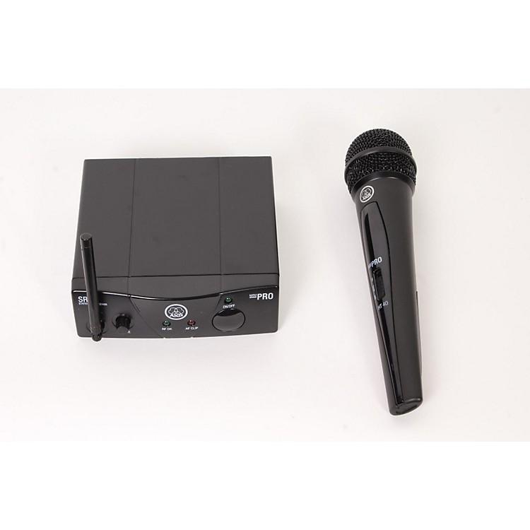AKGWMS 40 Mini Vocal Wireless SystemBand B888365843018