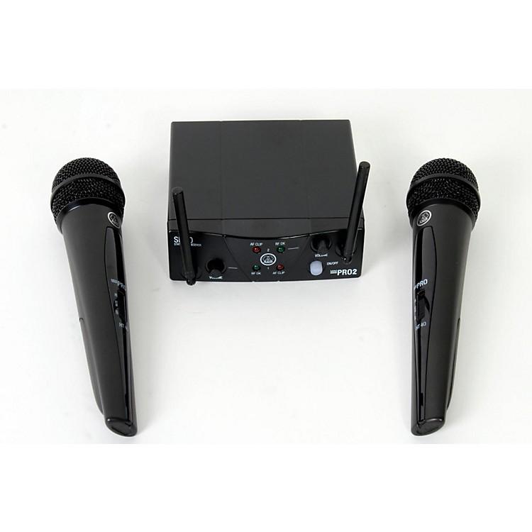 AKGWMS 40 Mini2 Vocal Wireless Microphone Set888365794129
