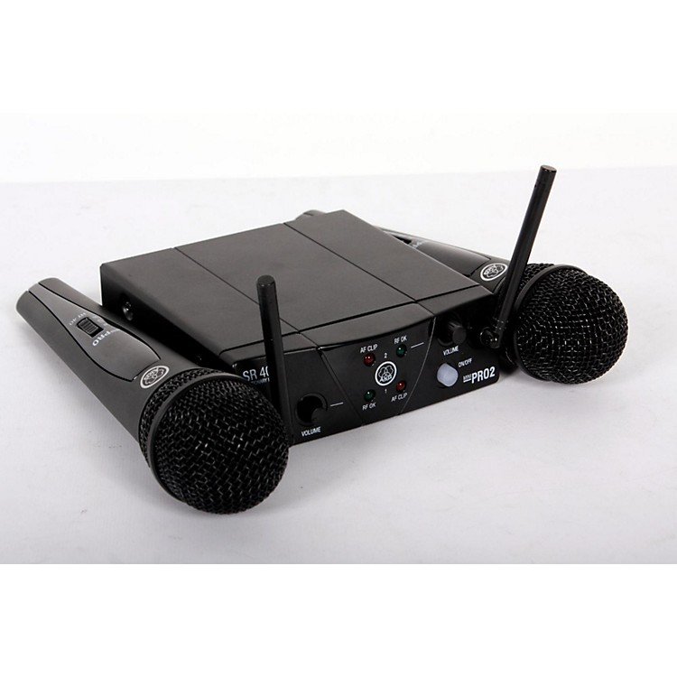 AKGWMS 40 Mini2 Vocal Wireless Microphone Set888365808611