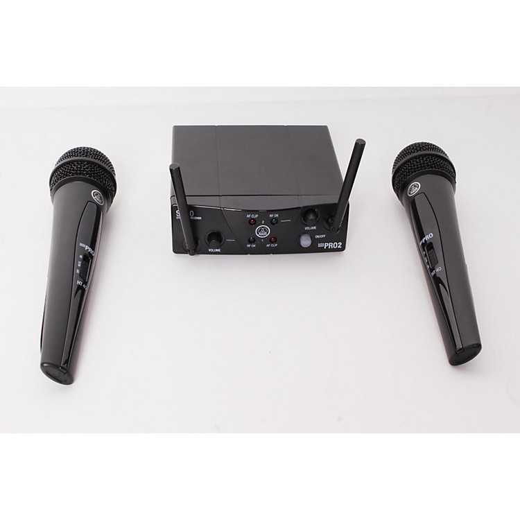 AKG WMS 40 Mini2 Vocal Wireless Microphone Set  888365908243