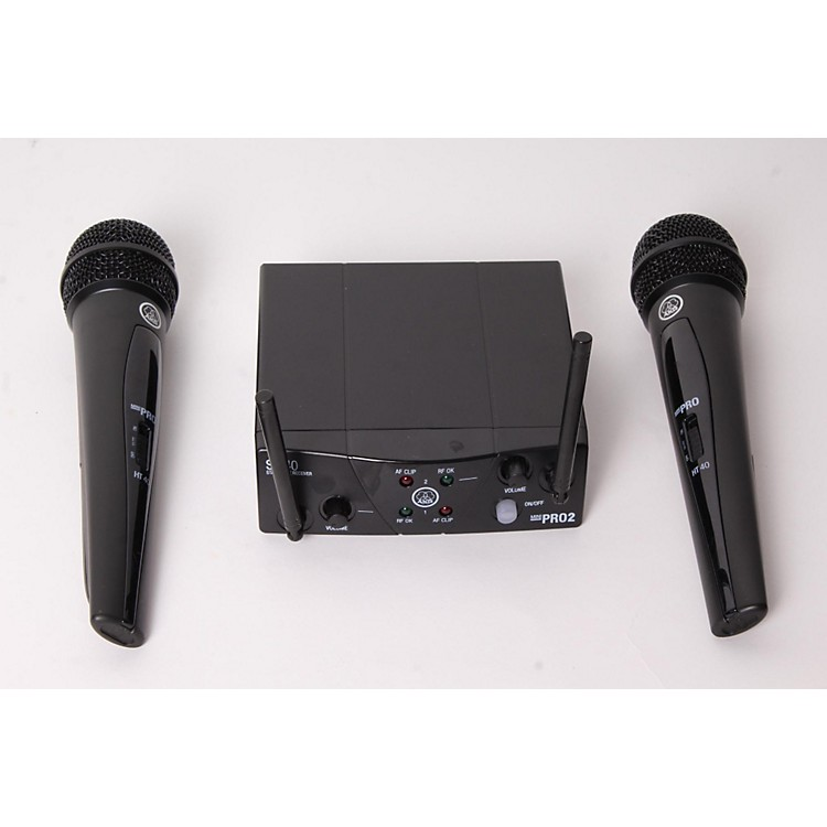 AKG WMS 40 Mini2 Vocal Wireless Microphone Set Regular 888365908236