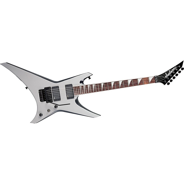 Jackson WRXMG Warrior X Series Electric Guitar Quicksilver with Black Bevels