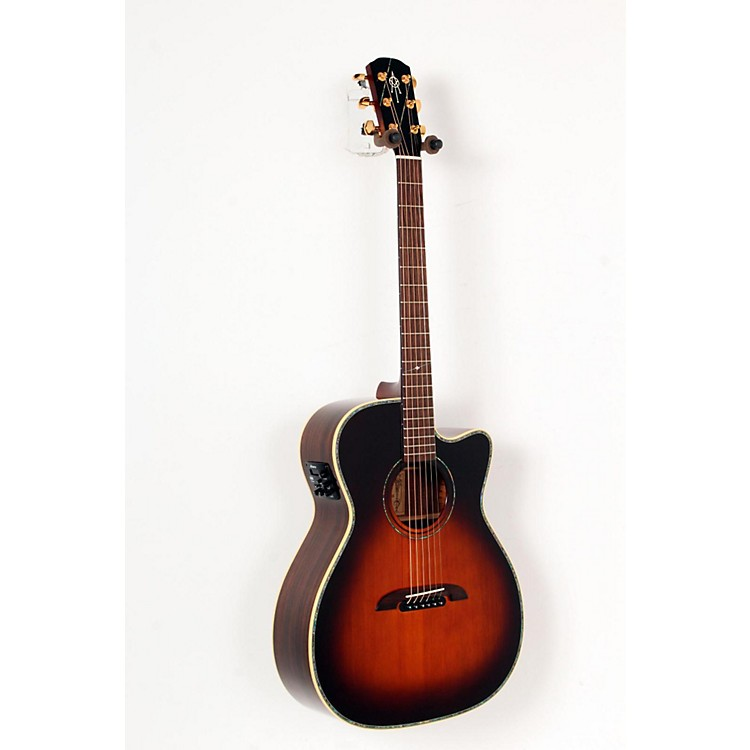 Alvarez WY1TS Yairi Stage OM/Folk Acoustic-Electric Guitar Natural 888365725246