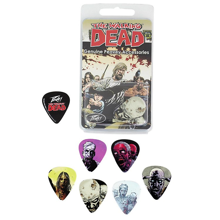 Peavey Walking Dead Characters Pick 12-Pack