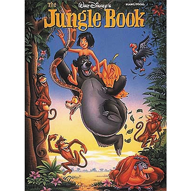 Hal LeonardWalt Disney's The Jungle Piano, Vocal, Guitar Songbook
