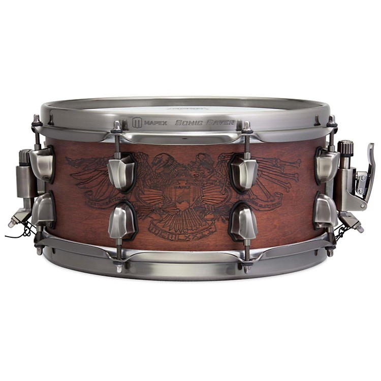 MapexWarbird Chris Adler Artist Inspired Black Panther Snare Drum12 x 5.5 in.