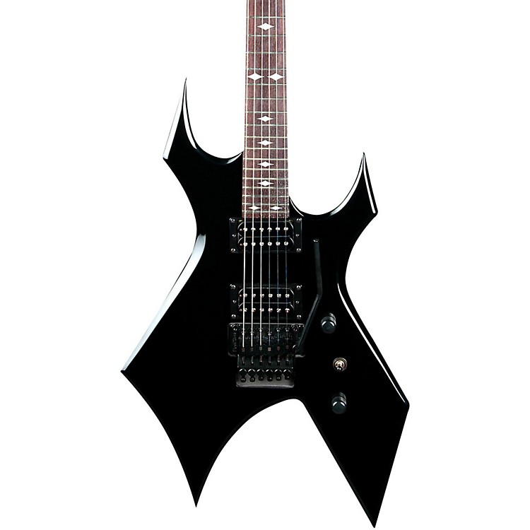 B.C. Rich Warlock Electric Guitar with Floyd Rose Black