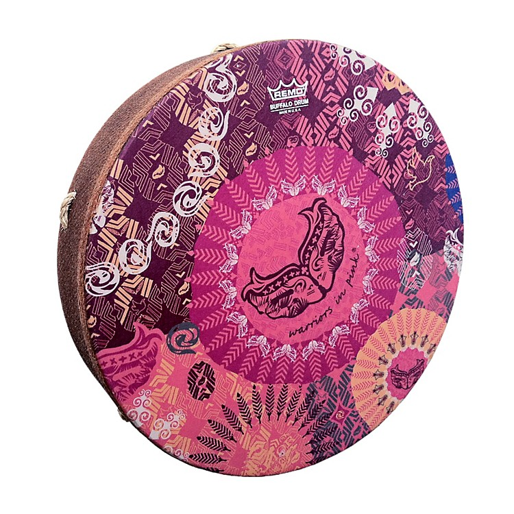 Remo Warriors in Pink SKYNDEEP M2 Drumhead