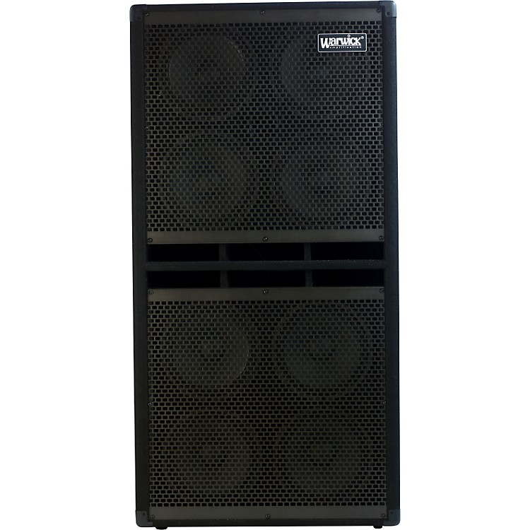 WarwickWarwick 8X10 800W/4 Ohm Bass Speaker CabinetBlack