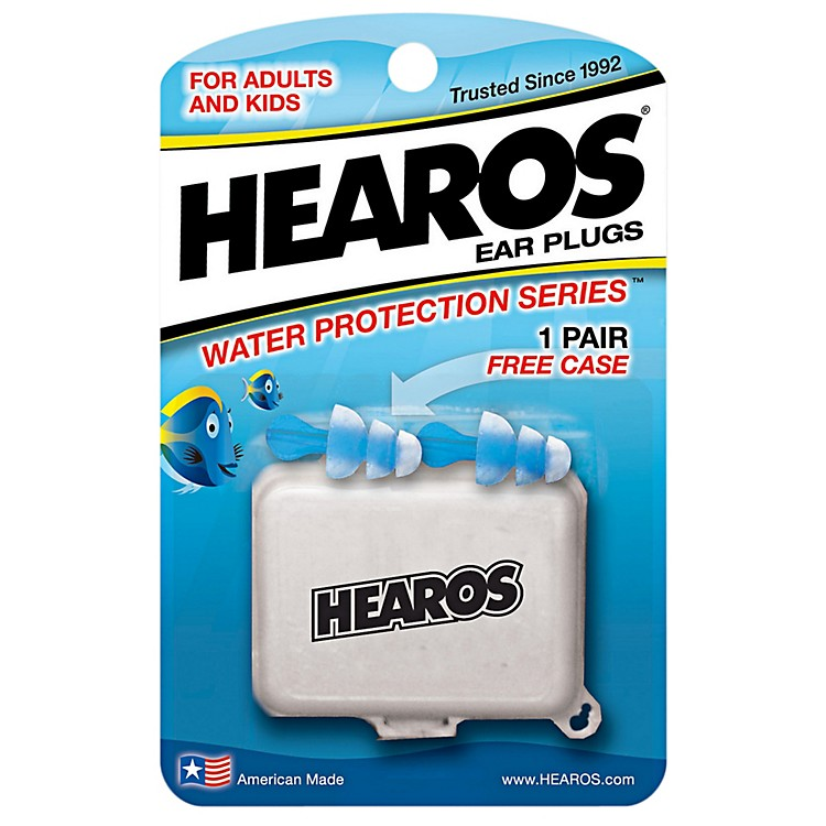 Hearos Water Protection Ear Plugs