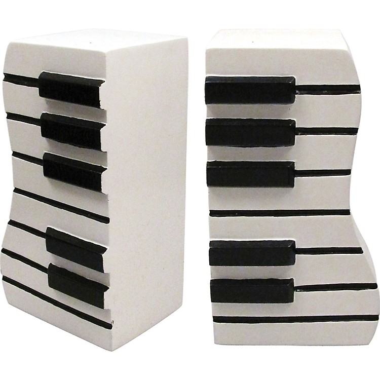 AIM Wavy Keyboard Bookends