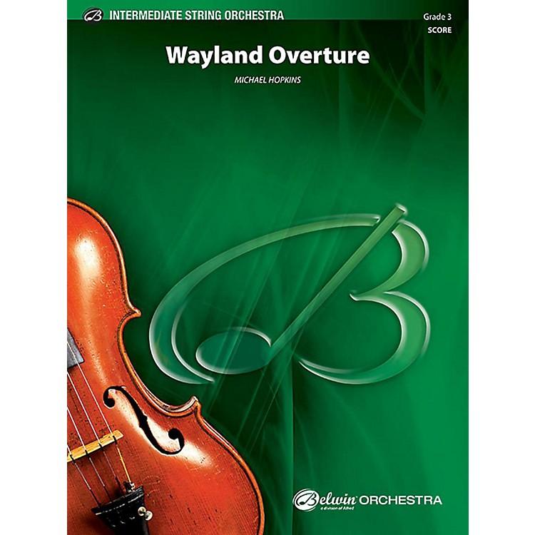 AlfredWayland Overture String Orchestra Grade 3 Set