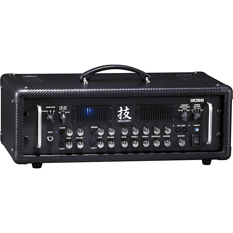 boss waza 150w guitar amp head music123. Black Bedroom Furniture Sets. Home Design Ideas