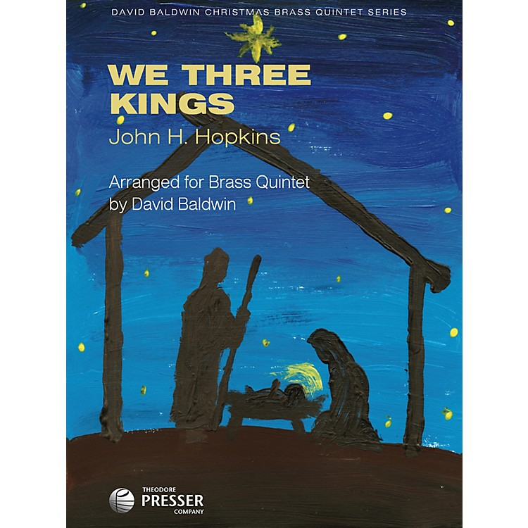 Carl Fischer We Three Kings (For Brass Quintet)