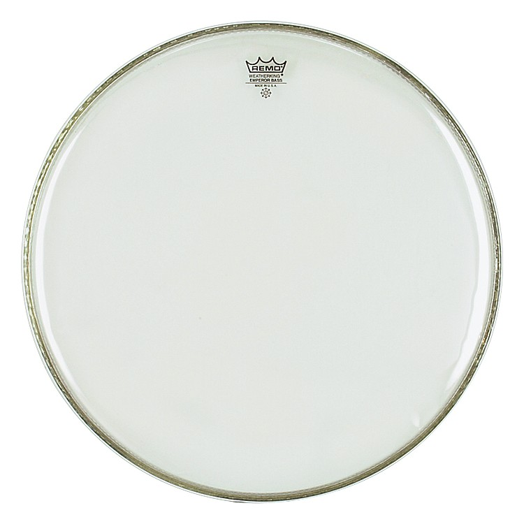 RemoWeather King Emperor Clear Bass Drumhead22 in.