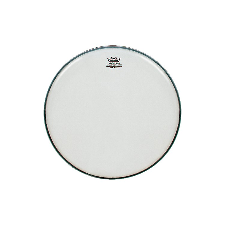 Remo Weatherking Smooth White Ambassador Batter  20 in.