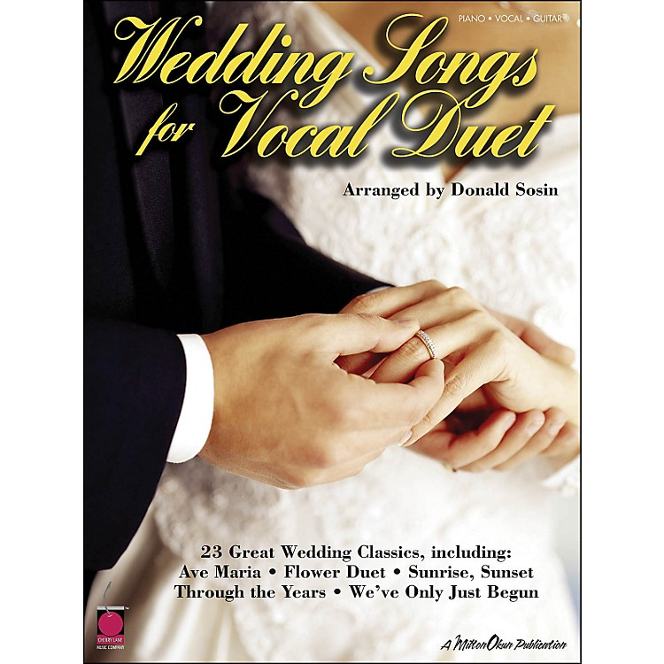 Cherry LaneWedding Songs for Vocal Duet