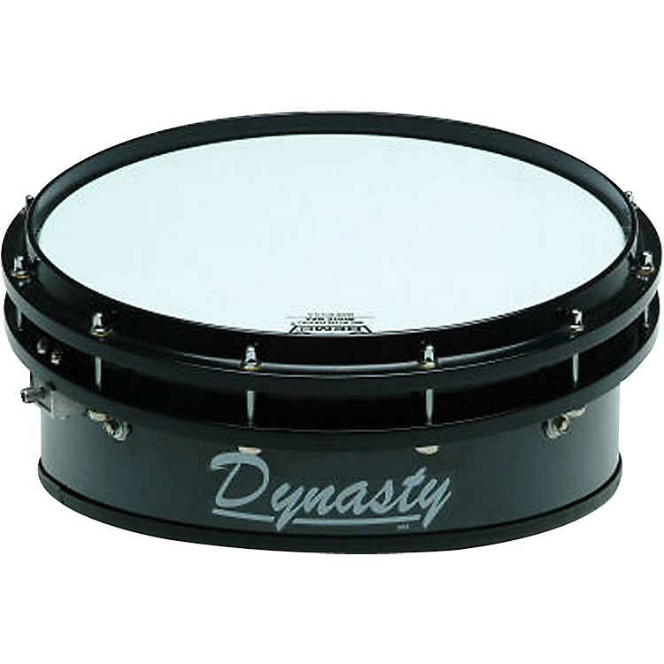 Dynasty Wedge Lite Series Marching Snare Drum Black