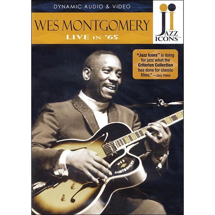 Hal LeonardWes Montgomery - Live In '65 DVD Jazz Icons DVD
