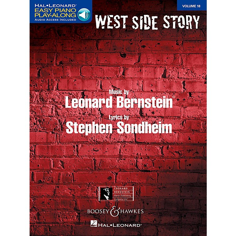 Boosey and HawkesWest Side Story Easy Piano Play-Along Vol. 18 Book/Online Audio