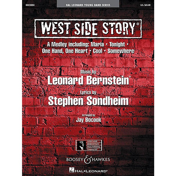 Boosey and HawkesWest Side Story Medley Concert Band Level 3