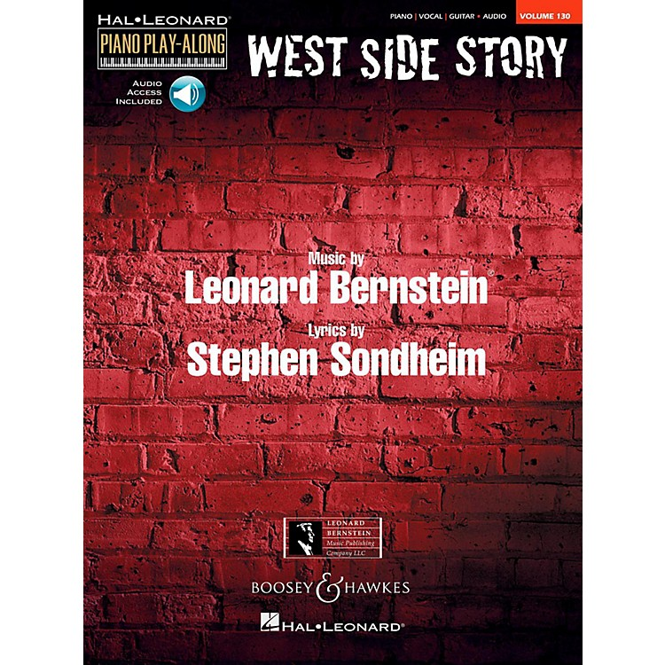 Boosey and HawkesWest Side Story Piano Play-Along Vol. 130 Book/Online Audio
