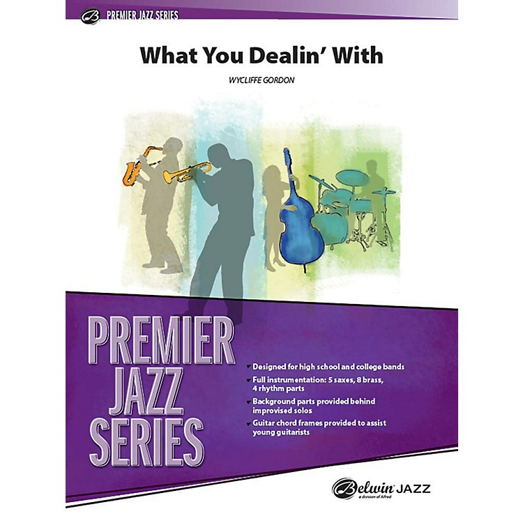 Alfred What You Dealin' With Jazz Band Grade 4 Set