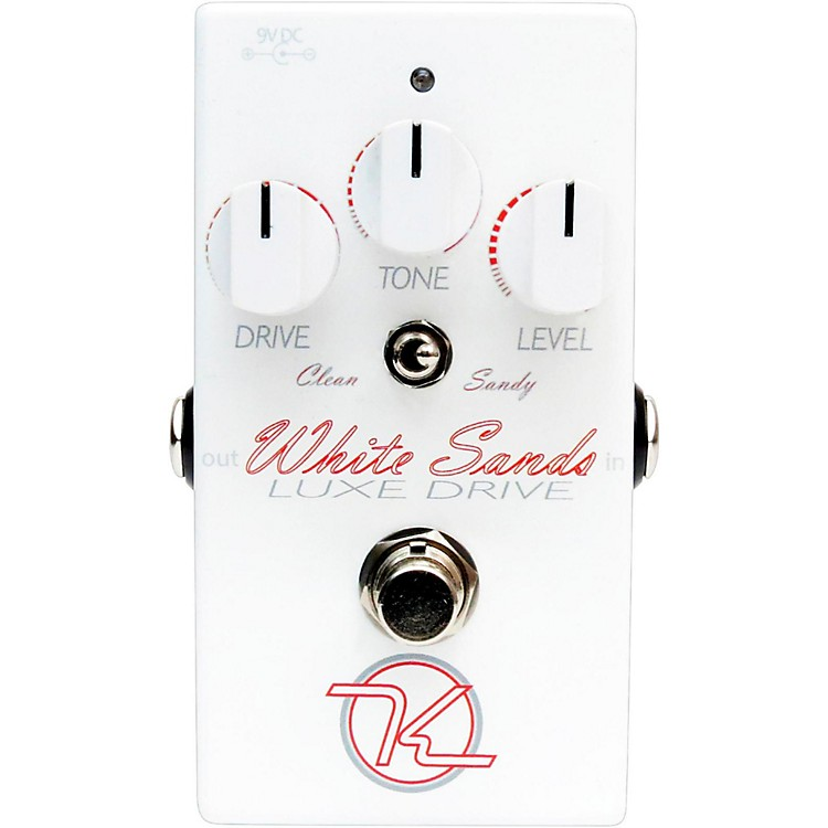 KeeleyWhite Sands Luxe Drive Guitar Effects Pedal