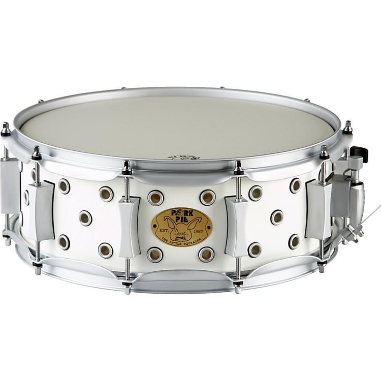 Pork PieWhite Satin Little Squealer Snare Drum5 x 14
