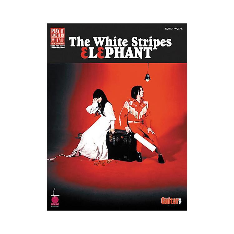 Cherry LaneWhite Stripes Elephant Guitar Tab Songbook