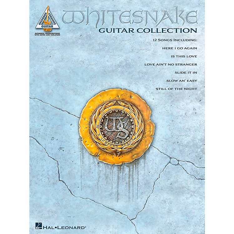 Hal LeonardWhitesnake Guitar Collection Guitar Tab Songbook