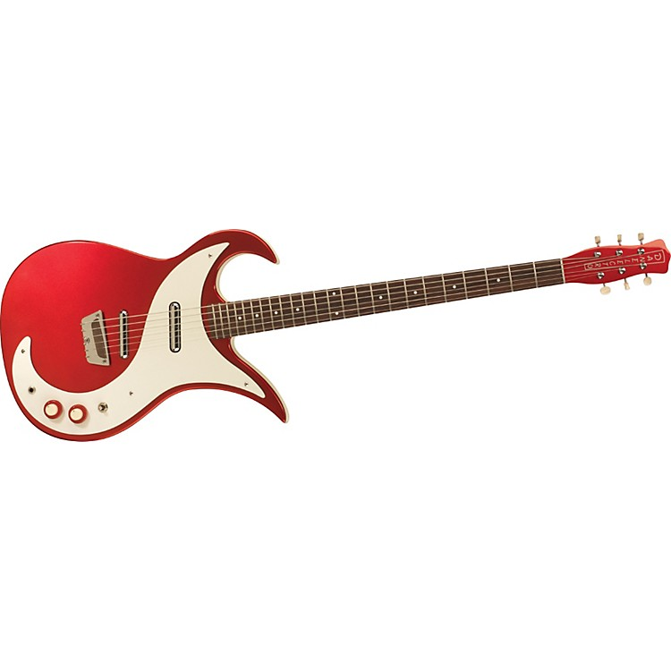 Danelectro Wild Thing Baritone Electric Guitar Candy Apple Red