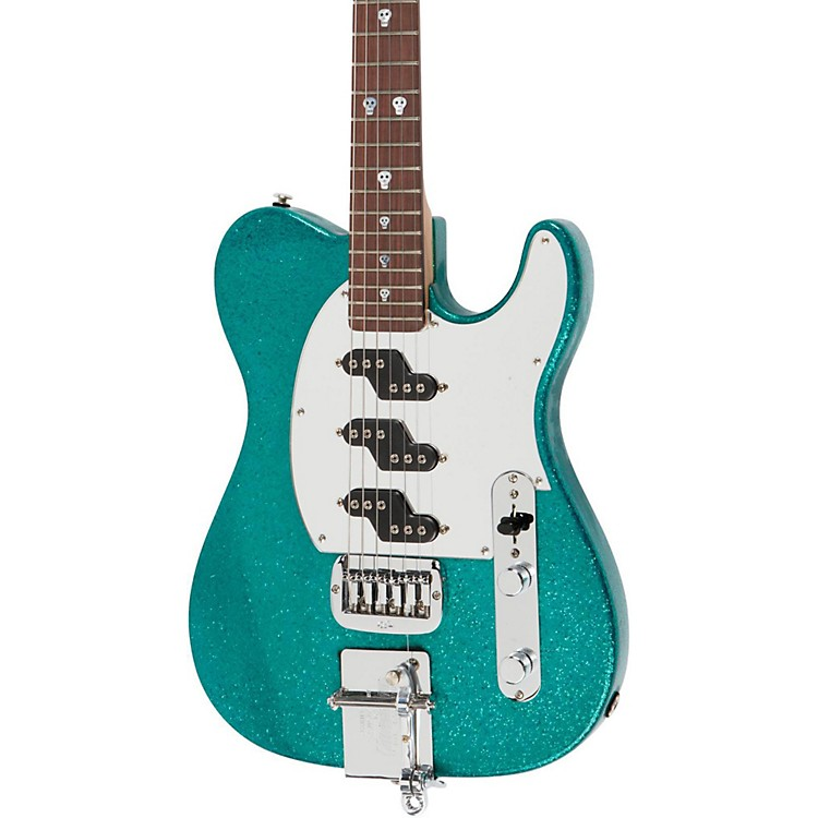 G&L Will Ray Signature Guitar Turquoise Metal Flake