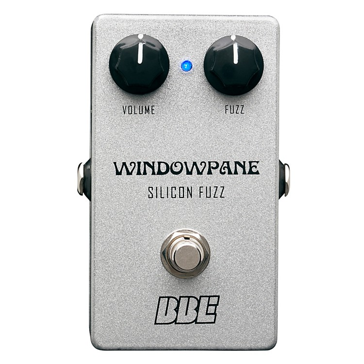 BBEWindowpane Silicon Fuzz Guitar Effects Pedal