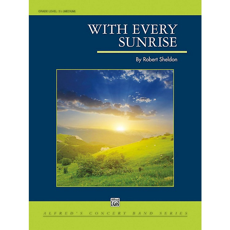 AlfredWith Every Sunrise - Grade 3.5 (Medium)
