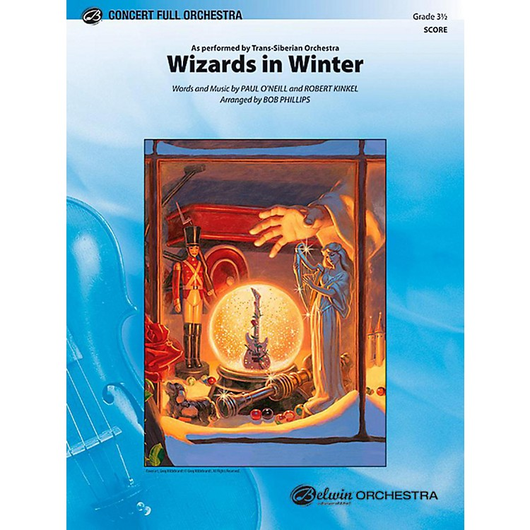 AlfredWizards in Winter Full Orchestra Level 3.5 Set