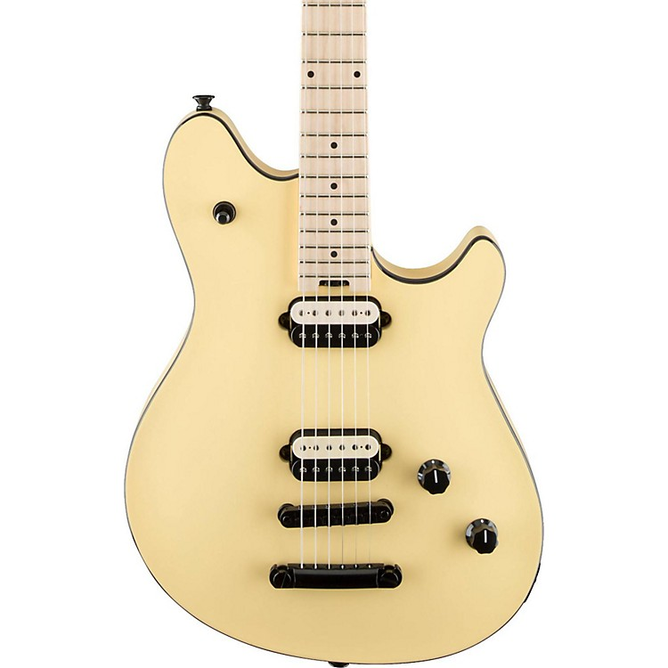 EVH Wolfgang Special Tunamatic Bridge Electric Guitar Vintage White