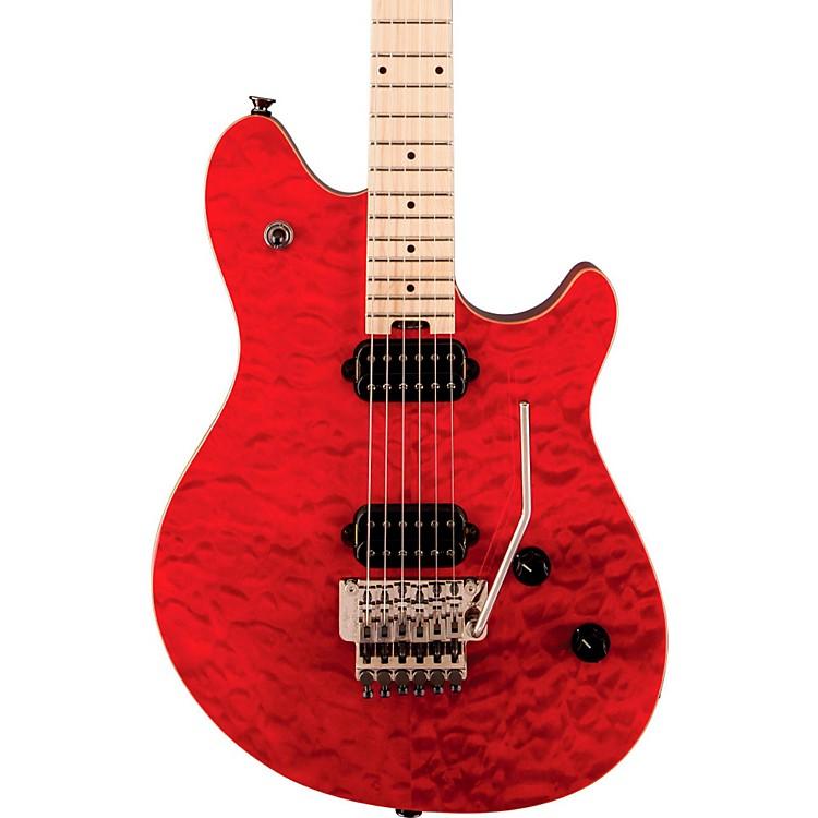 EVHWolfgang Standard Electric GuitarTransparent RedMaple Fretboard