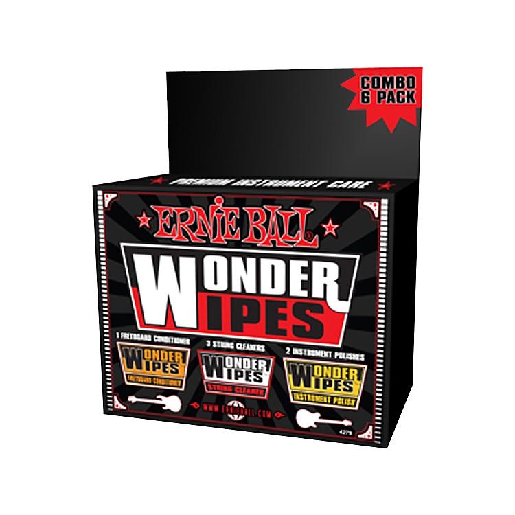 Ernie BallWonder Wipe Variety 6-pack