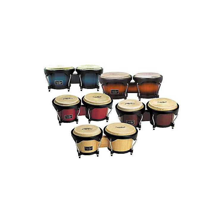 Schalloch Wood Bongo Set Super Natural