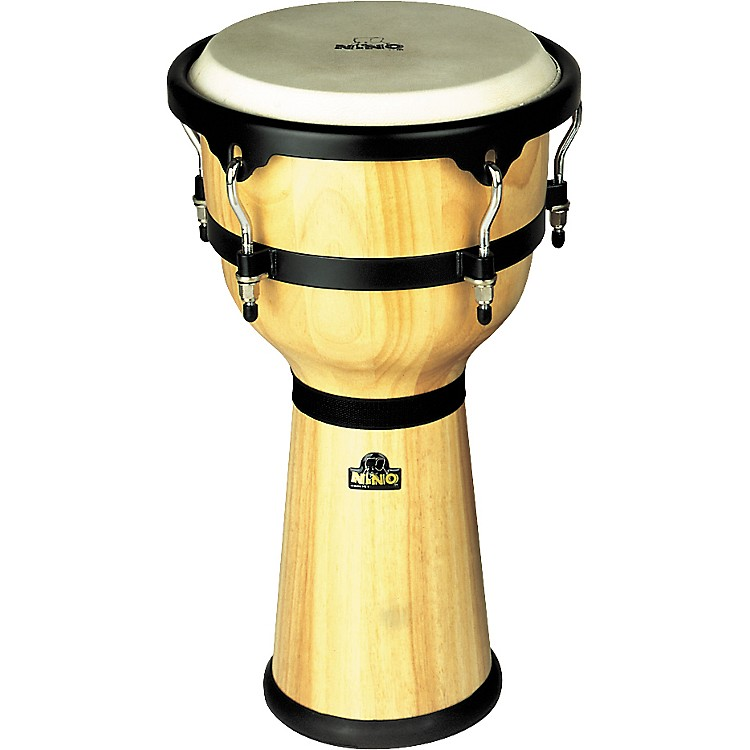 NinoWood Djembe DrumNatural10 Inches