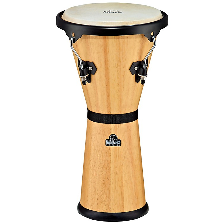 Nino Wood Djembe Natural 10 in.