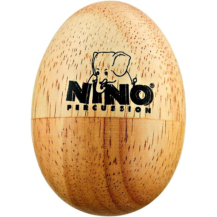 NinoWood Egg ShakerNaturalSmall