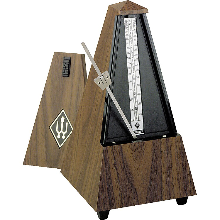 Wittner Wood Metronome Walnut