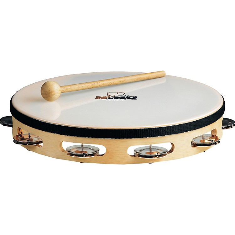 Nino Wood Single Row Tambourine