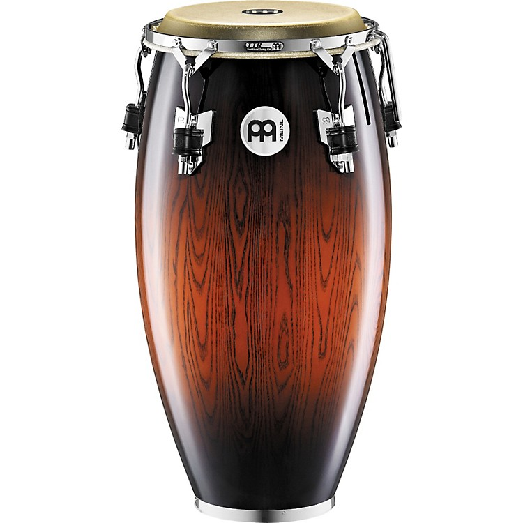 Meinl Woodcraft Quinto Conga Drum ANTIQUE MAHOGANY BURST 11 inch