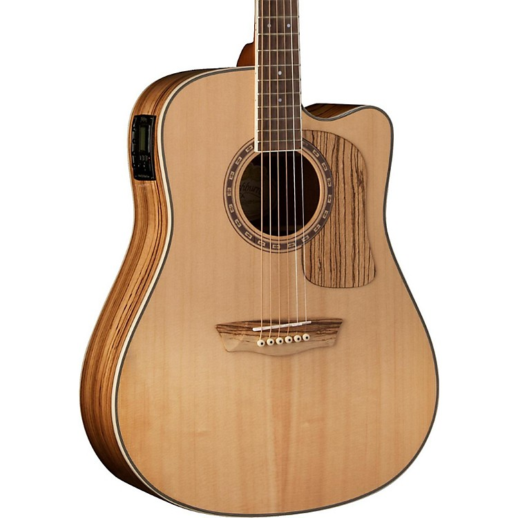 WashburnWoodcraft Series WCSD32SCE Dreadnought Acoustic-Electric GuitarNatural